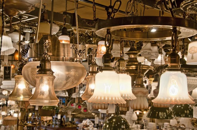 About Mary Davis Vintage Lighting