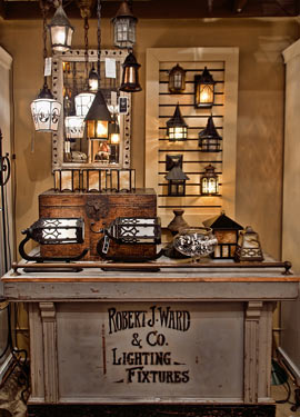 about | mary davis vintage lighting